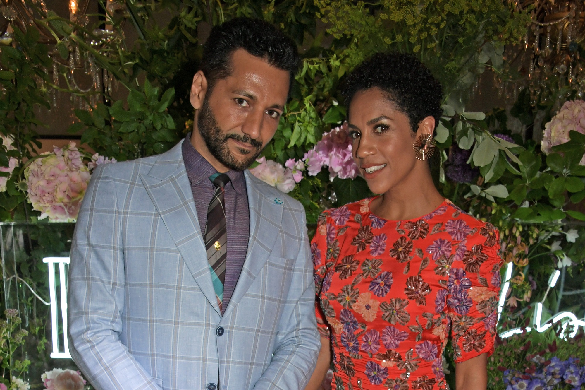 Cas Anvar and Dominique Tipper of The Expanse