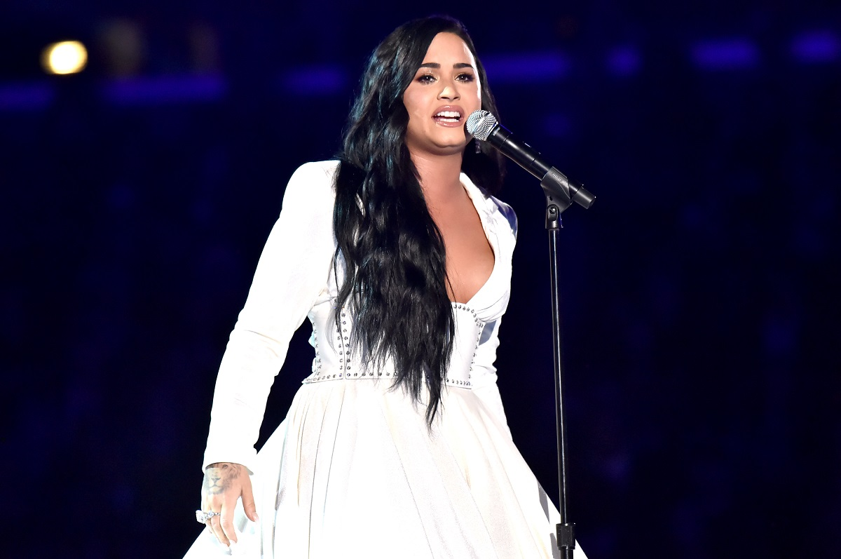 Demi Lovato performs onstage during the 62nd Annual GRAMMY Awards on January 26, 2020 in Los Angeles, California.