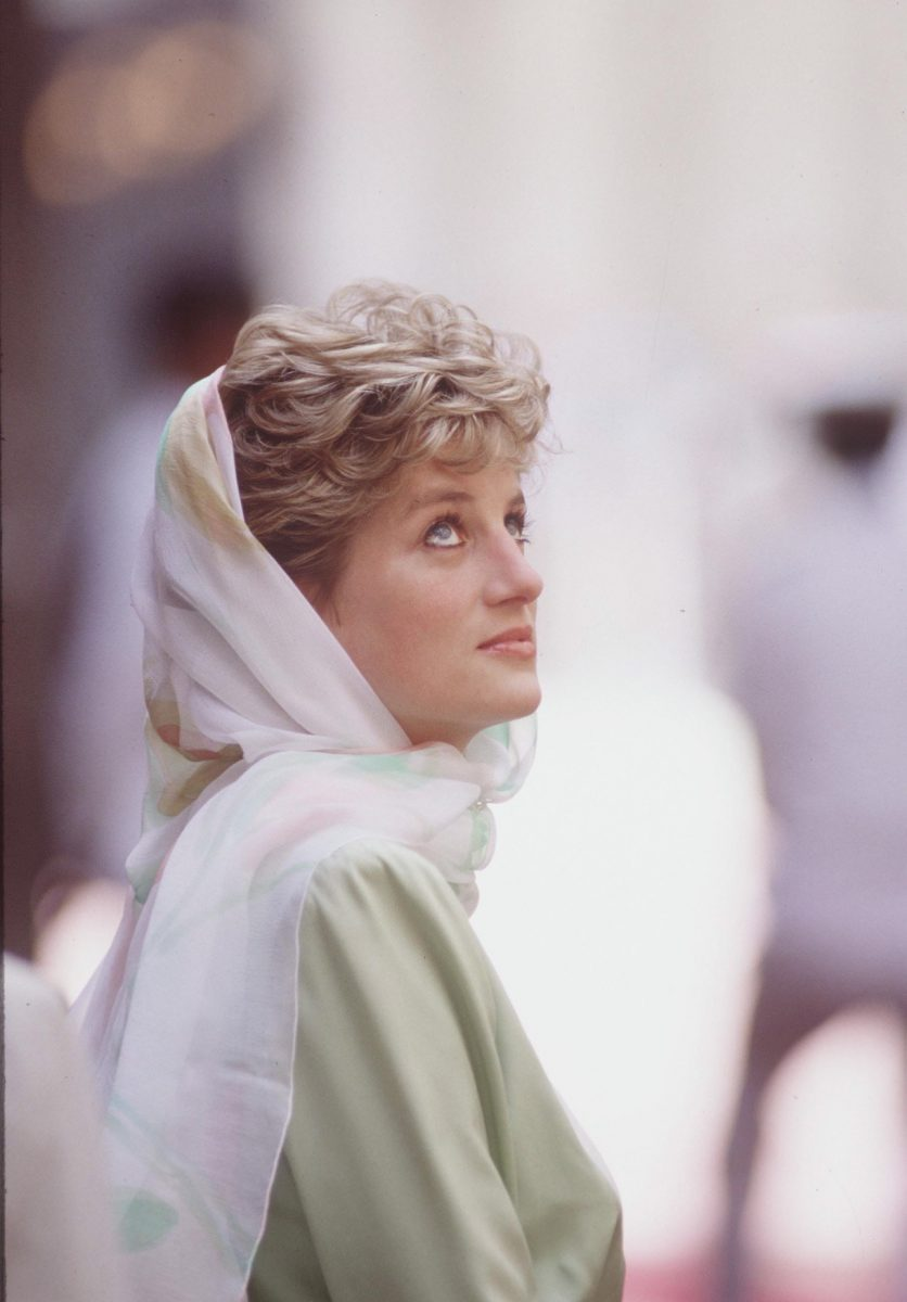 Princess Diana in Eygpt