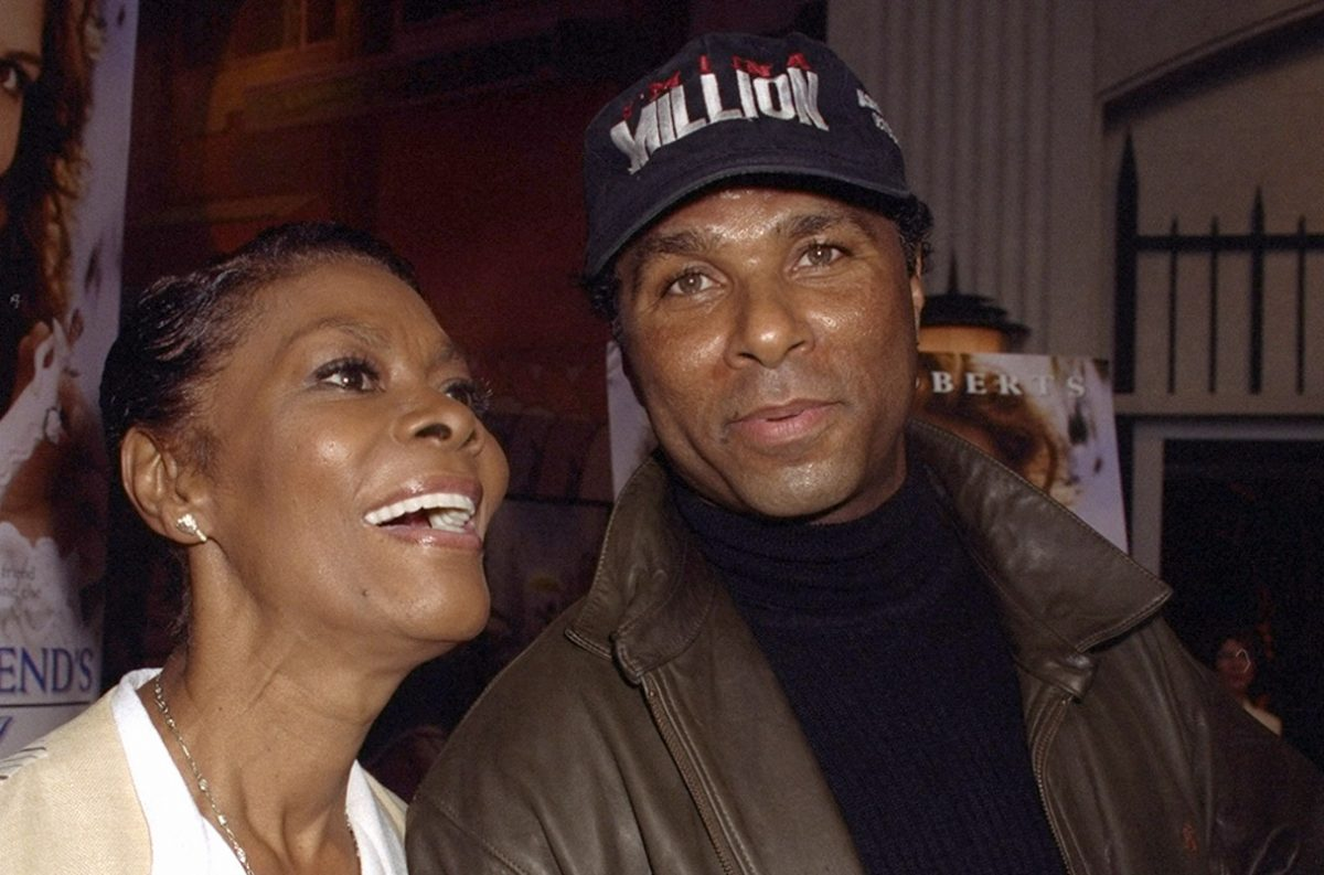 Dionne Warwick and Philip Michael Thomas at a 1998 premiere