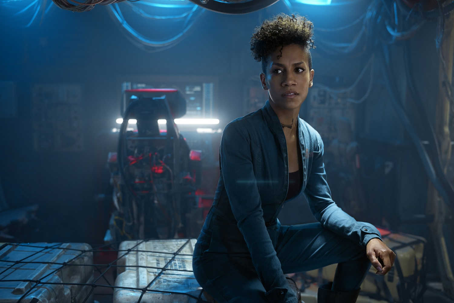 Dominique Tipper as Naomi Nagata on The Expanse