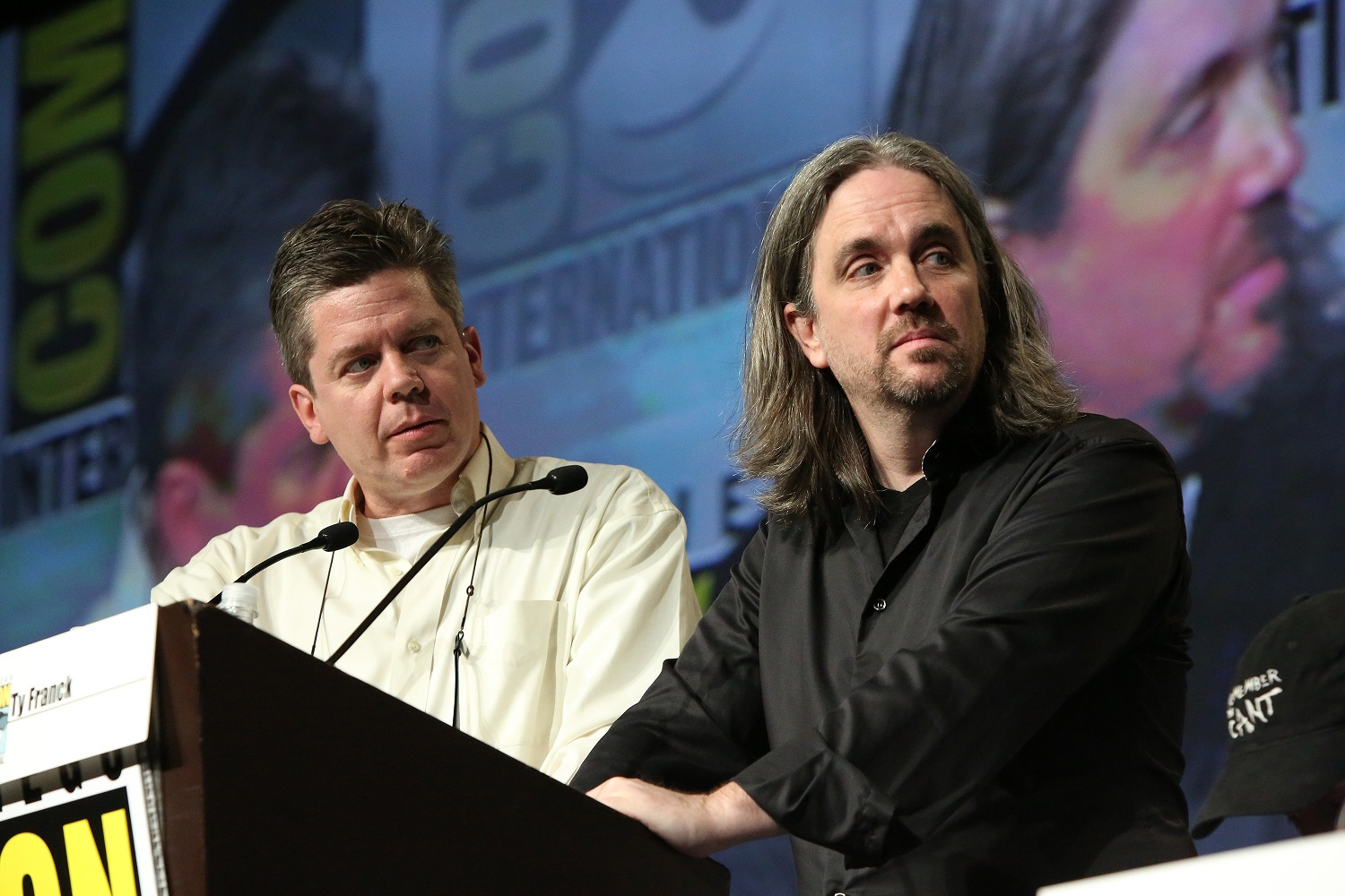 Daniel Abraham and Ty Frank, co-authors of The Expanse