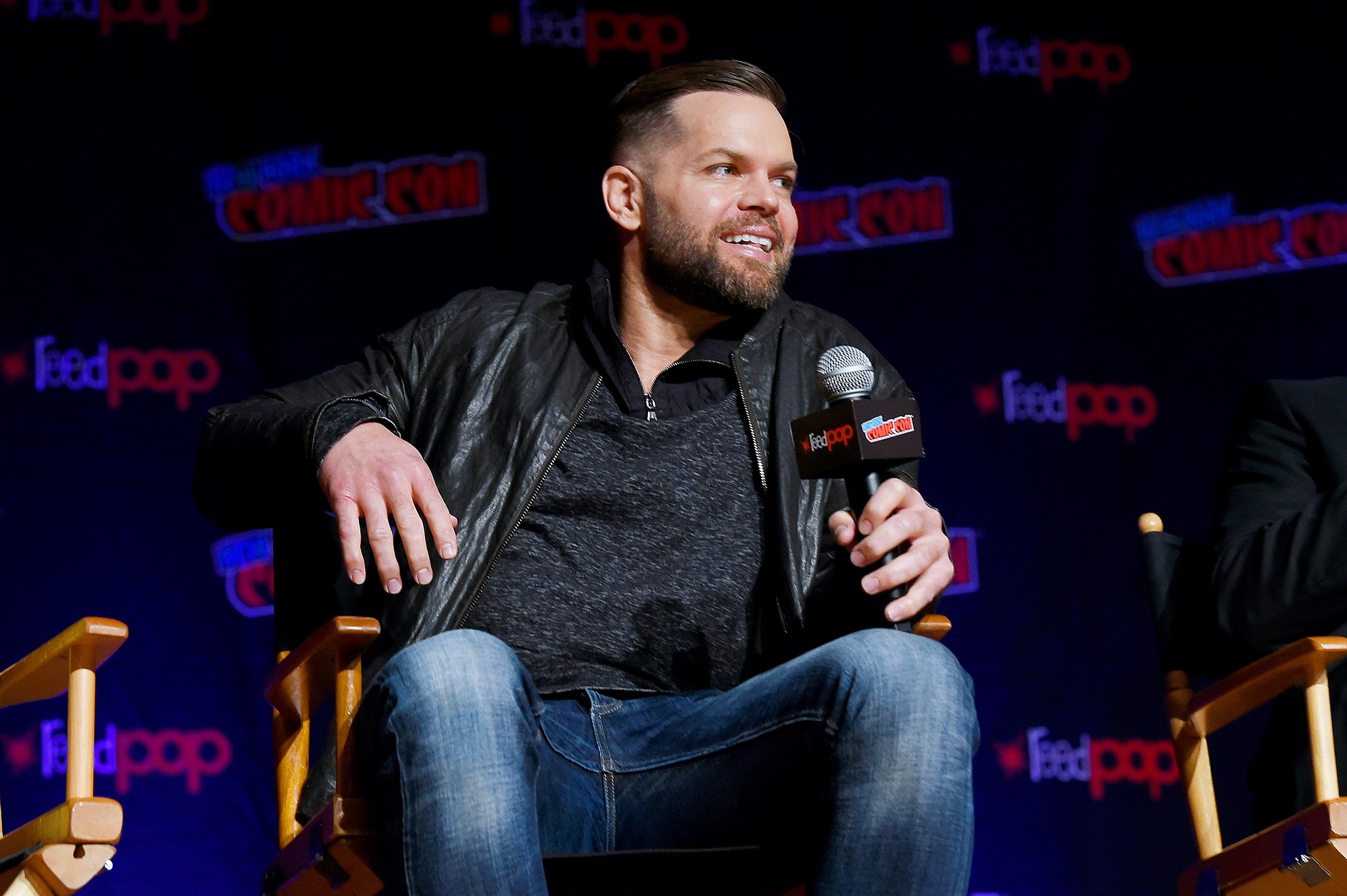 Wes Chatham plays Amos Burton in The Expanse