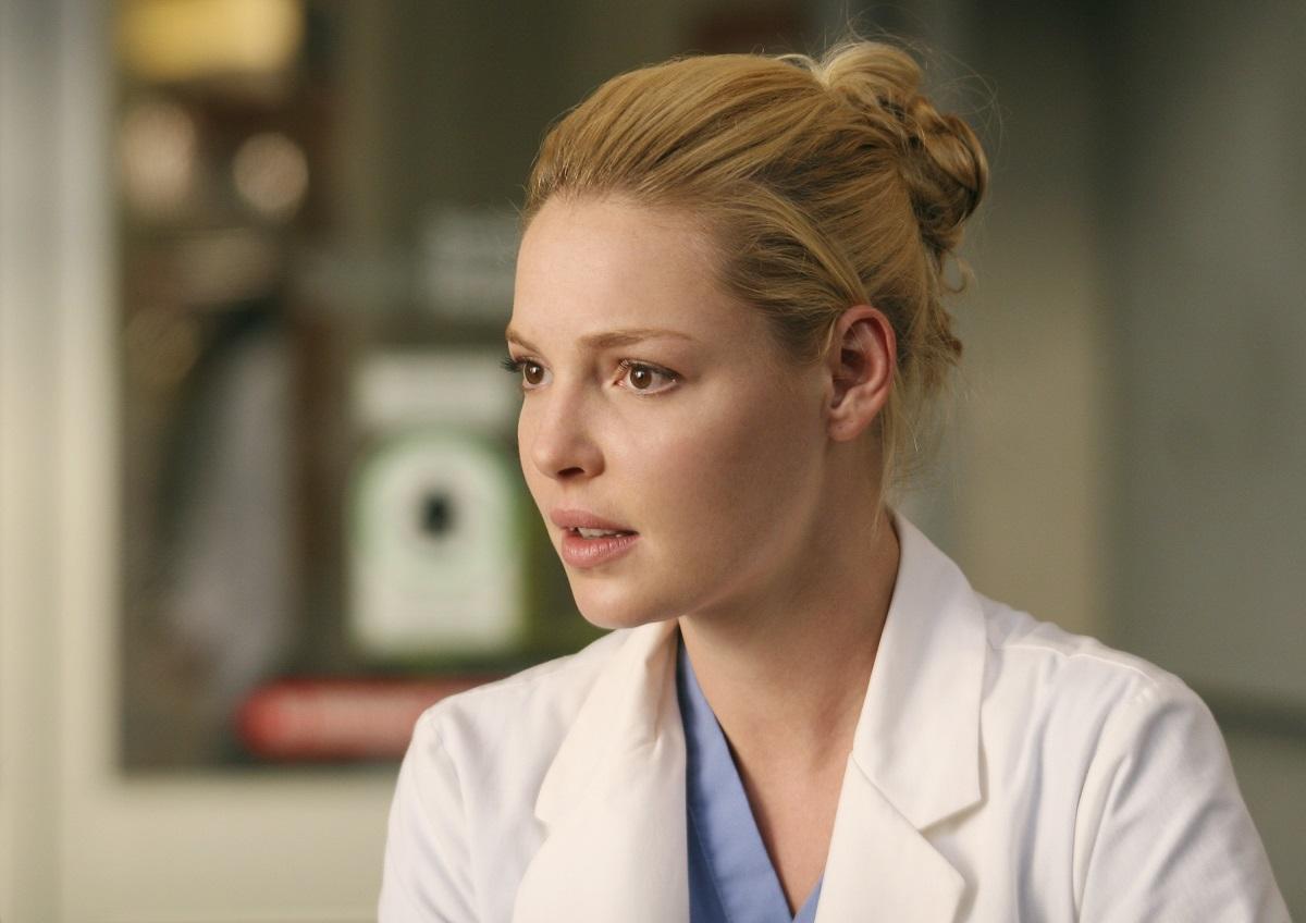 Katherine Heigl as Izzie Stevens in 'Grey's Anatomy'
