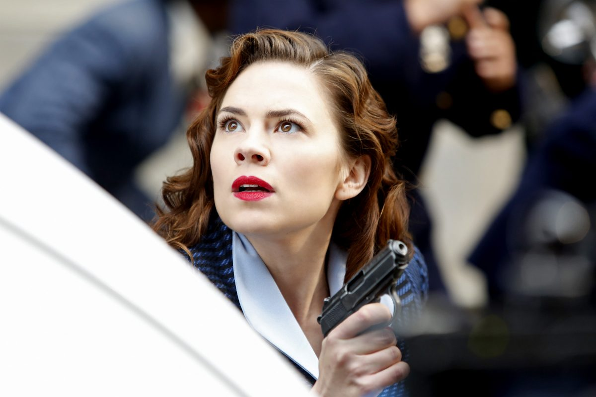 Hayley Atwell as Peggy in 'Agent Carter'