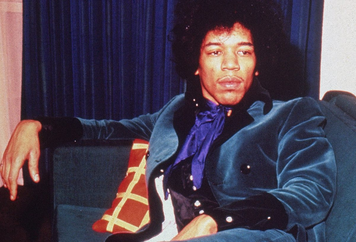 Jimi Hendrix in 1967
