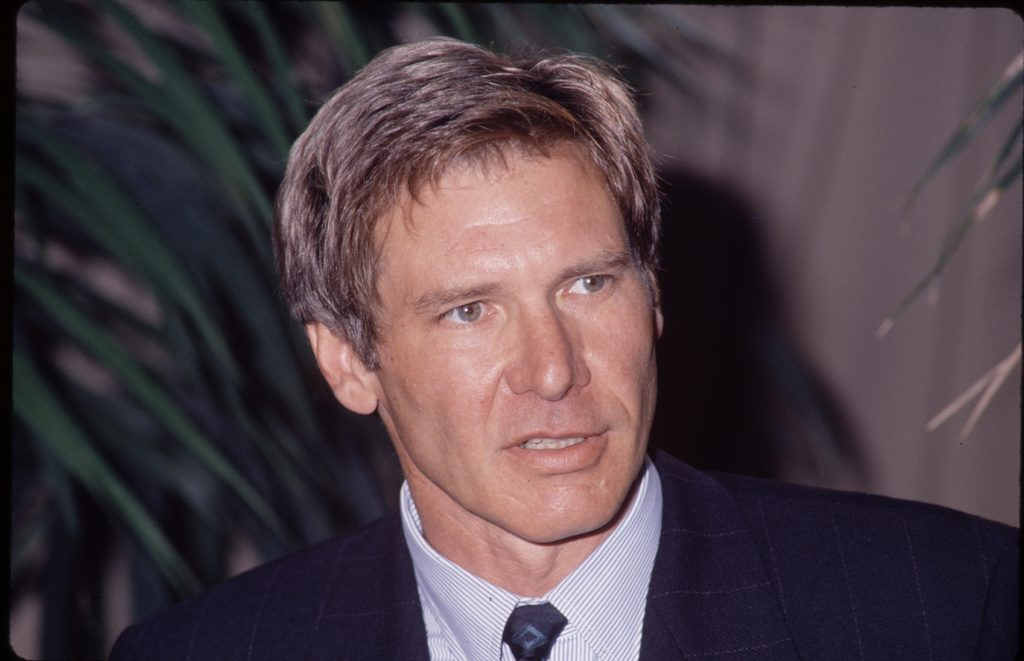 Harrison Ford in a suit
