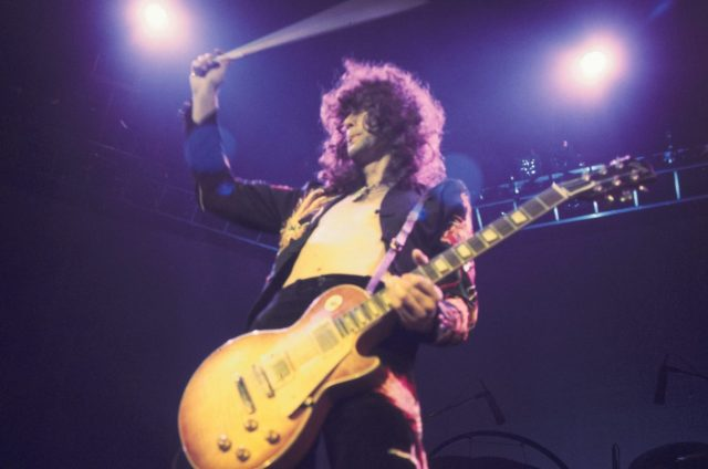 The 3 Led Zeppelin Tracks on Which Jimmy Page Played Guitar With a Bow
