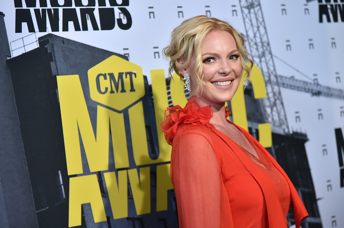 Katherine Heigl attends the 2017 CMT Music Awards on June 7, 2017 in Nashville, Tennessee.