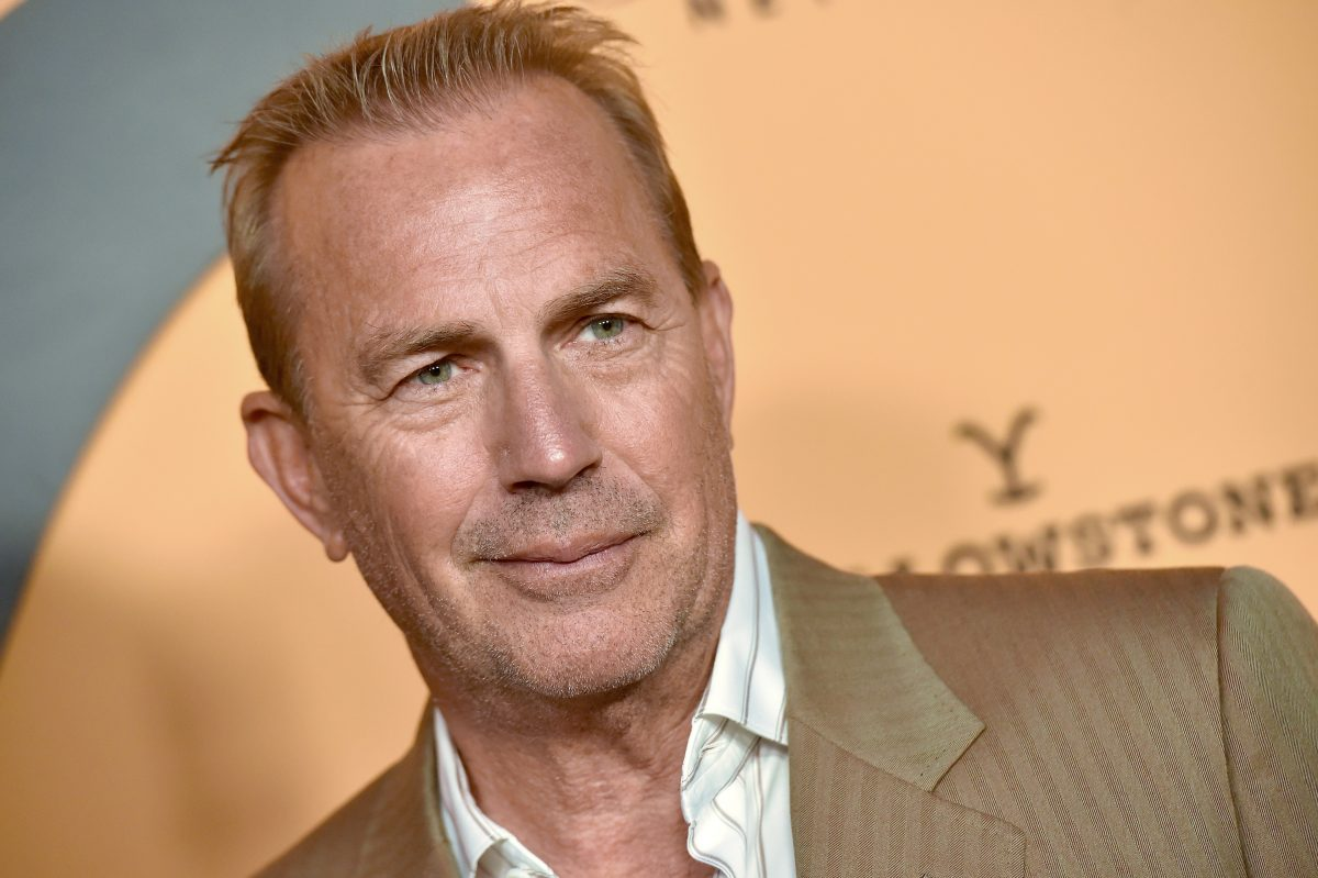 Kevin Costner attends the premiere of Yellowstone on May 30, 2019