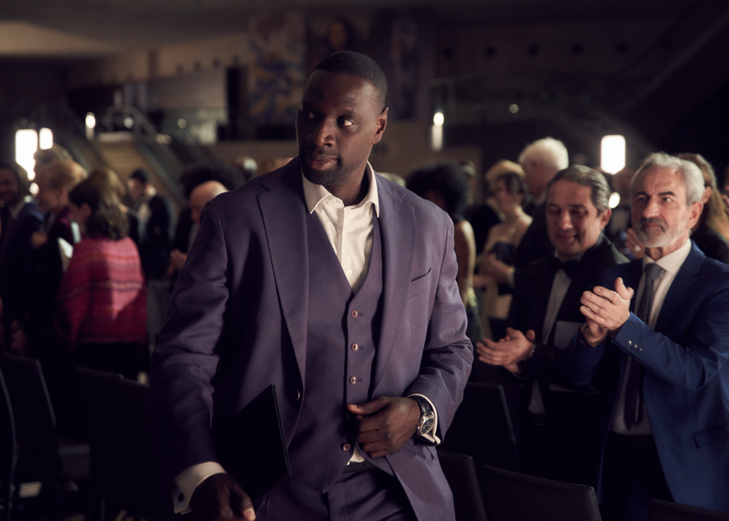 Omar Sy in 'Lupin' on Netflix