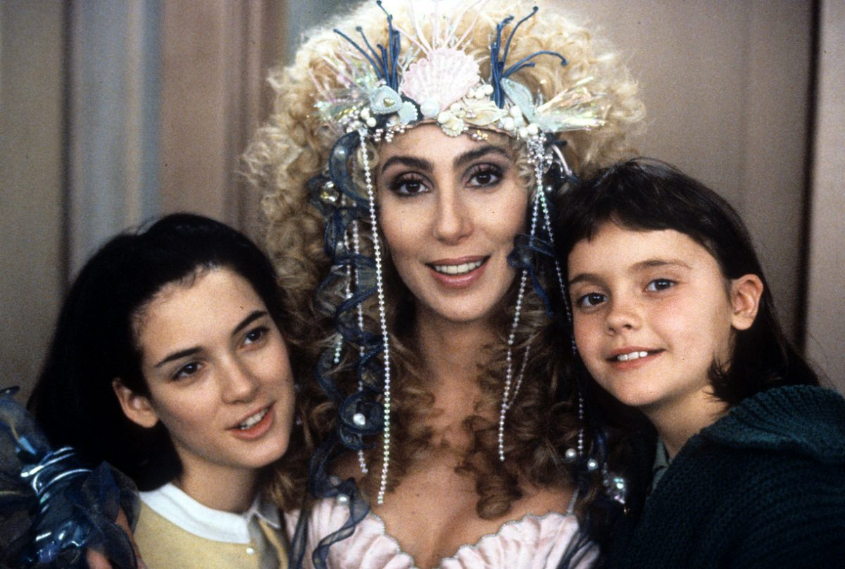 Winona Ryder And Cher In 'Mermaids'