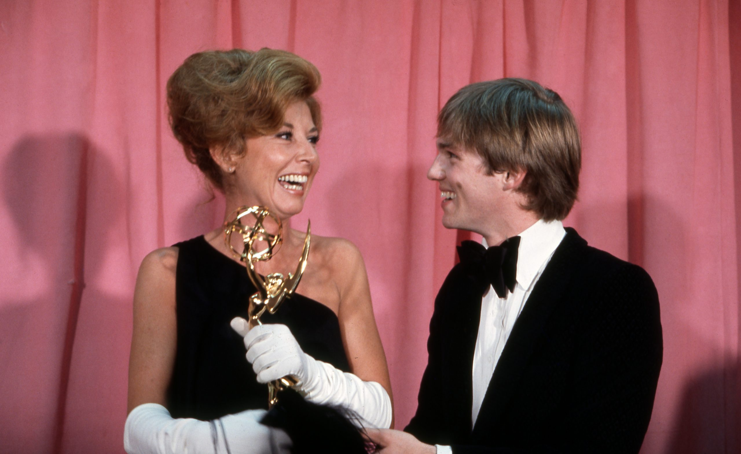 Michael Learned and Richard Thomas at the Emmys