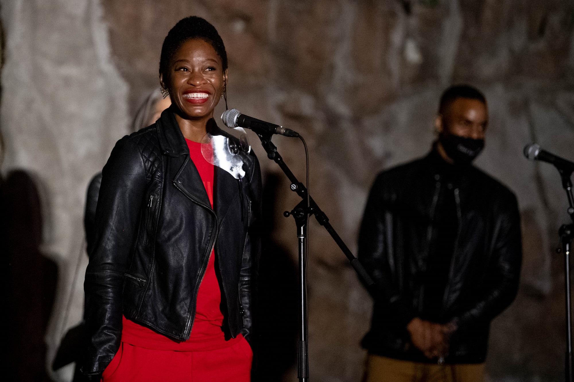 Olunike Adeliyi plays Karal on The Expanse