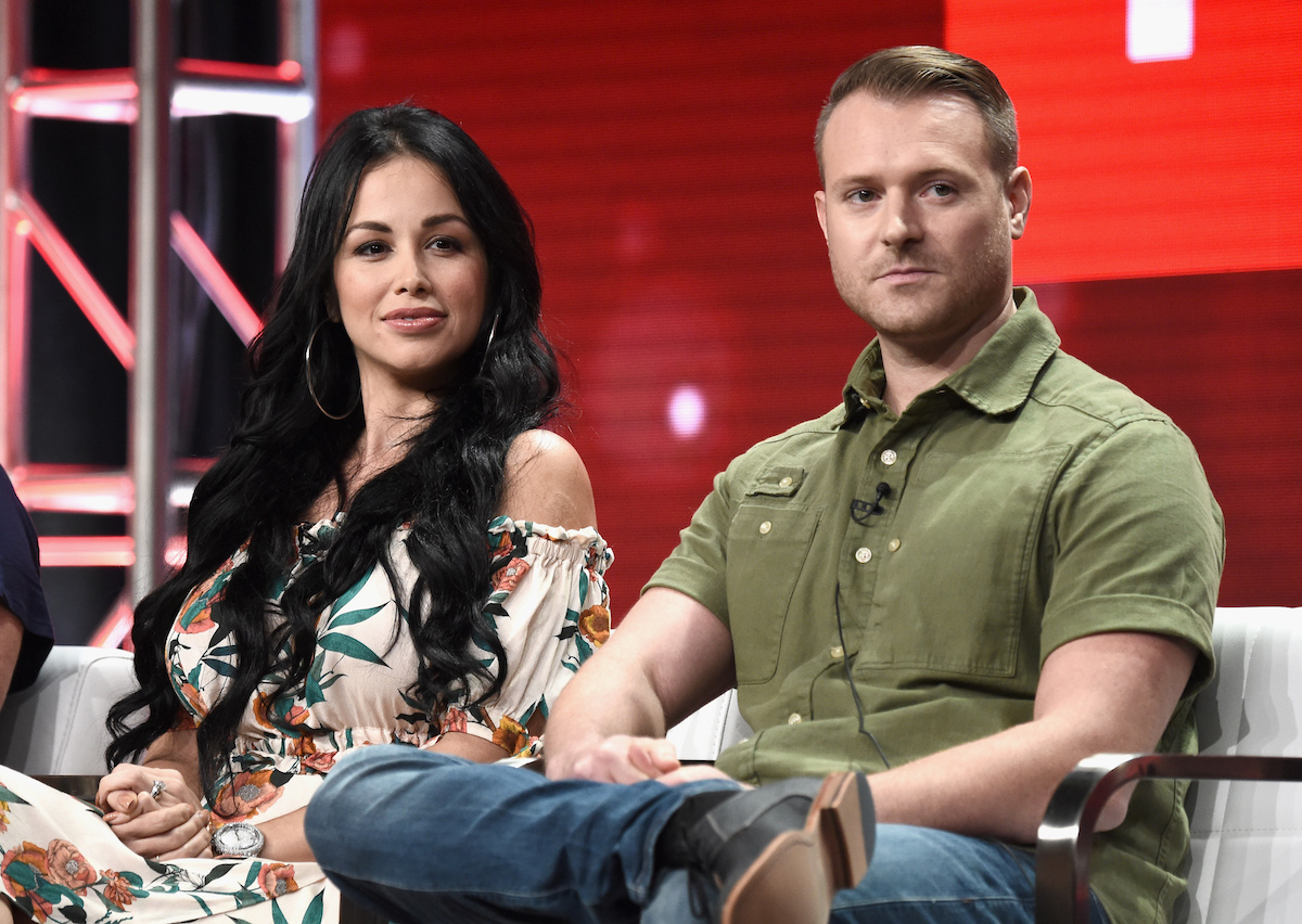 Paola and Russ at TCA panel
