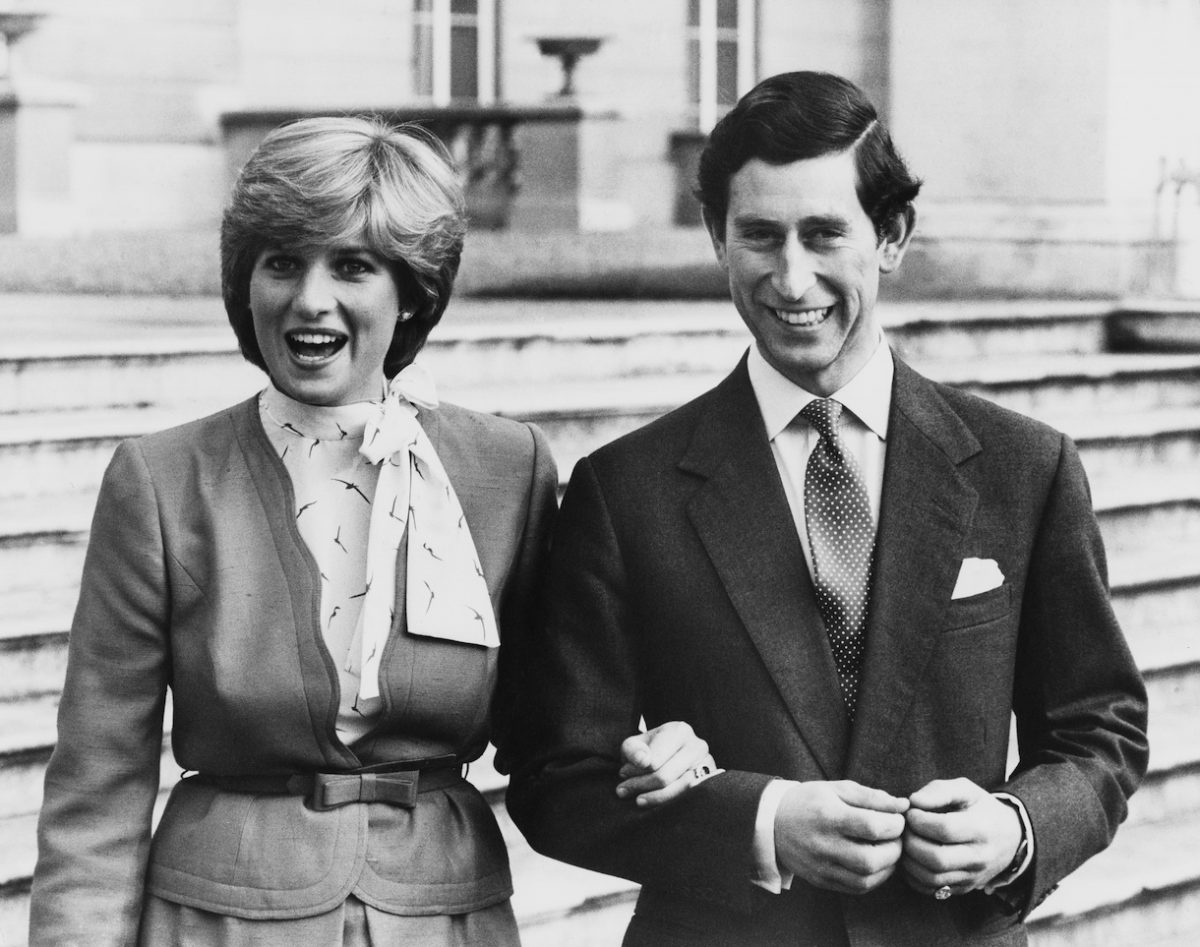 Lady Diana Spencer and Prince Charles