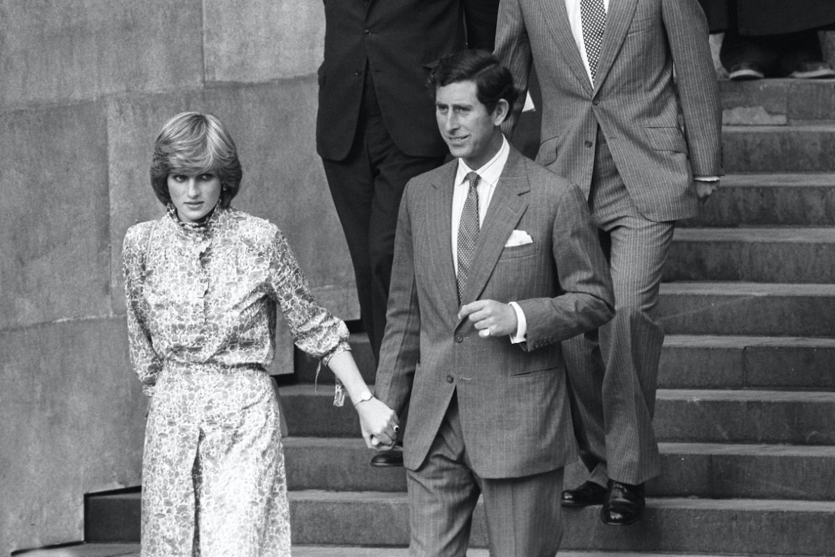 Prince of Wales and Lady Diana Spencer Wedding Rehearsal
