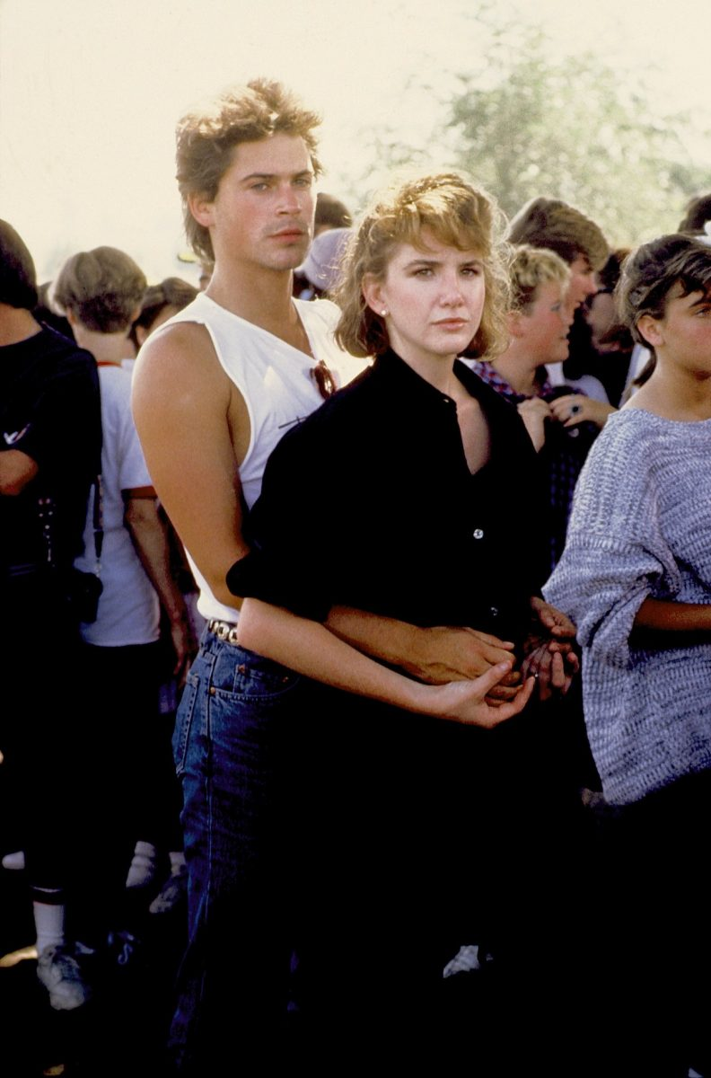 Rob Lowe and Melissa Gilbert in 1982