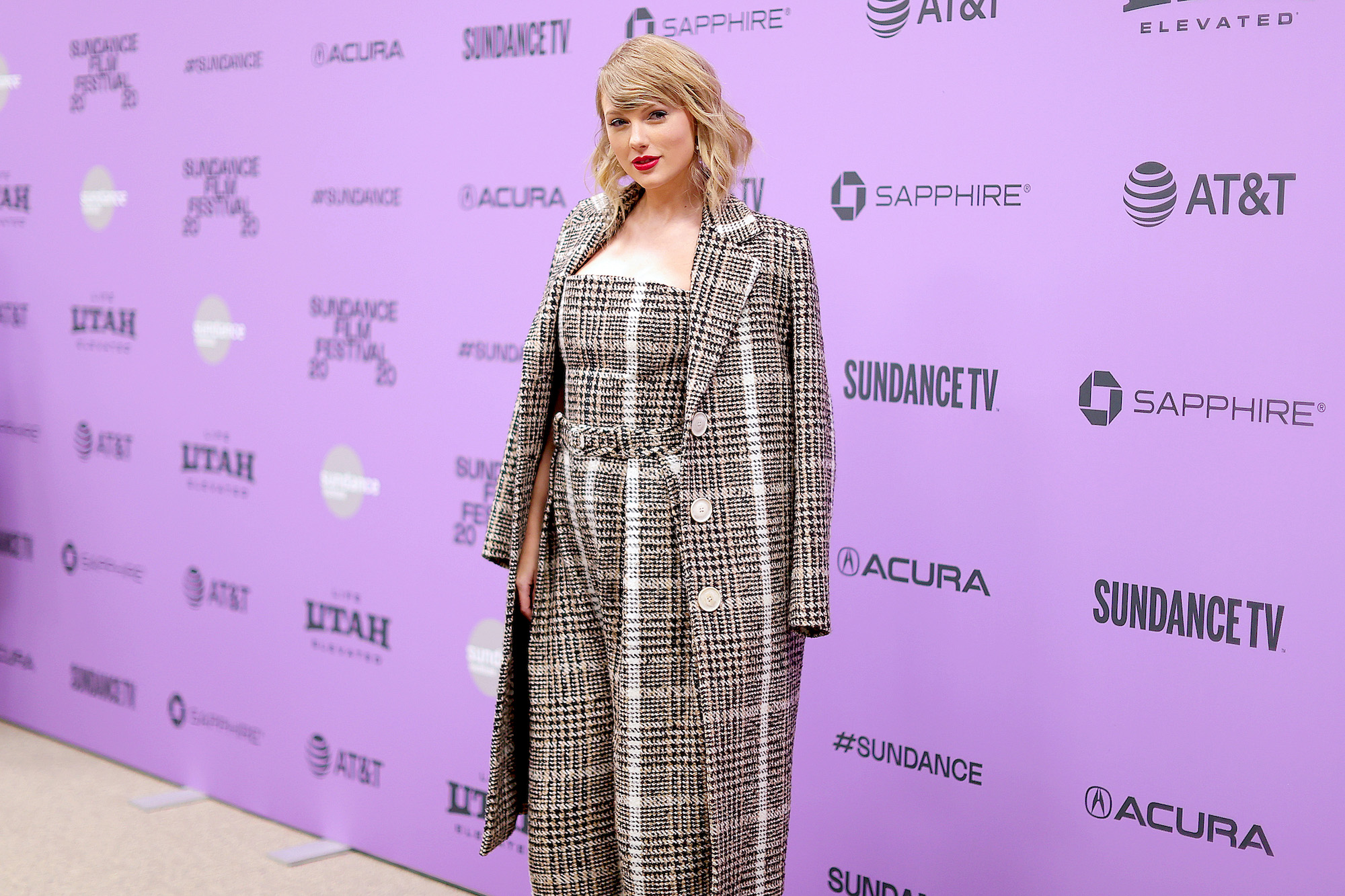 Taylor Swift at the 2020 Sundance Film Festival - 'Miss Americana' Premiere at Eccles Center Theatre on Jan. 23, 2020 in Park City, Utah