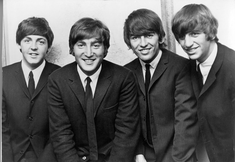 Paul McCartney, John Lennon, George Harrison, and Ringo Starr of The Beatles