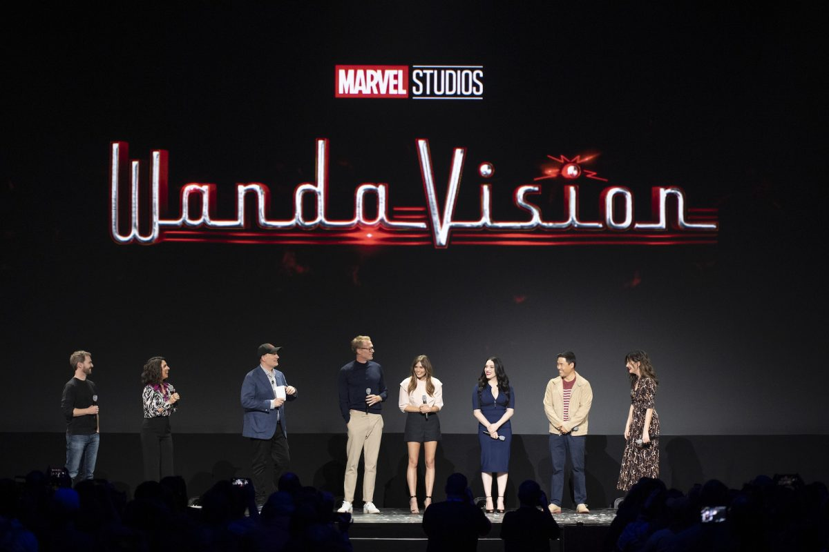 The cast and crew of Marvel Studios' 'WandaVision'
