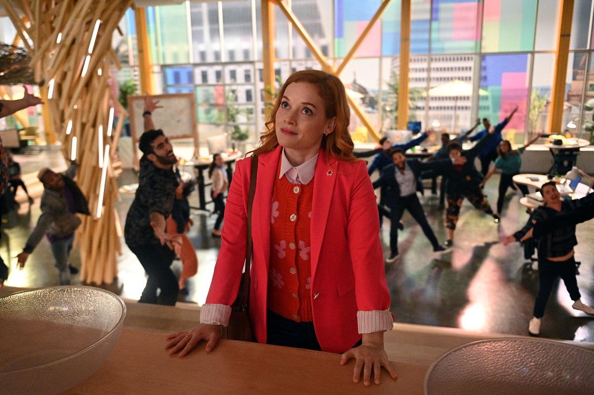 Jane Levy as Zoey Clarke in 'Zoey's Extraordinary Playlist' Season 2