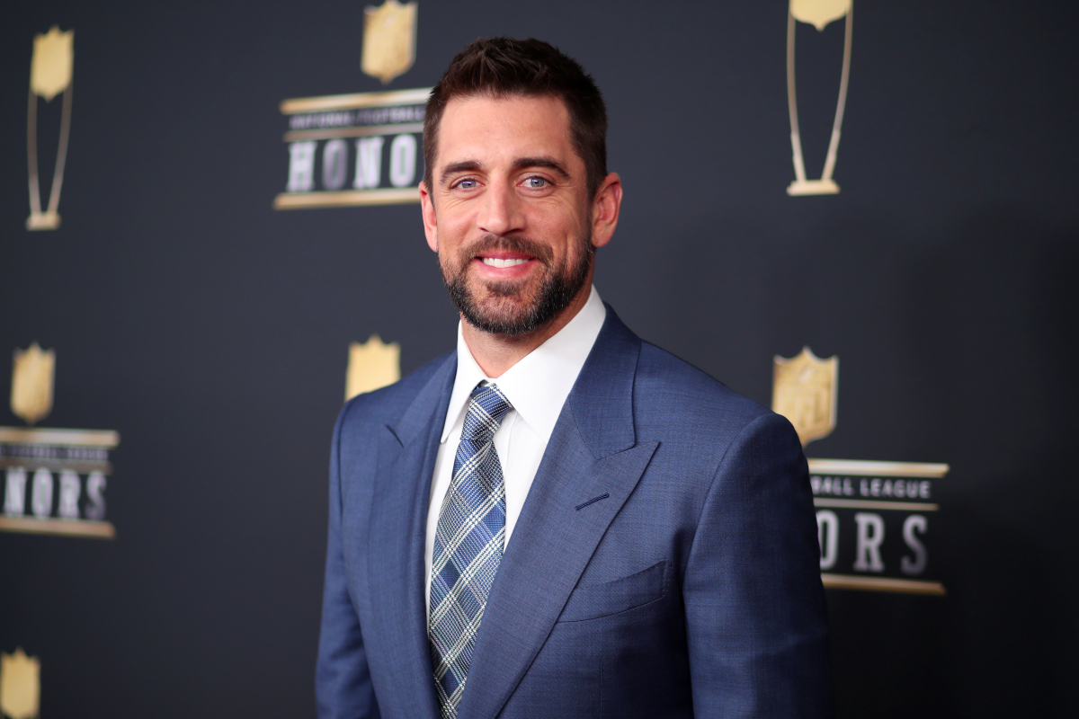 Aaron Rodgers at the NFL Honors in 2018