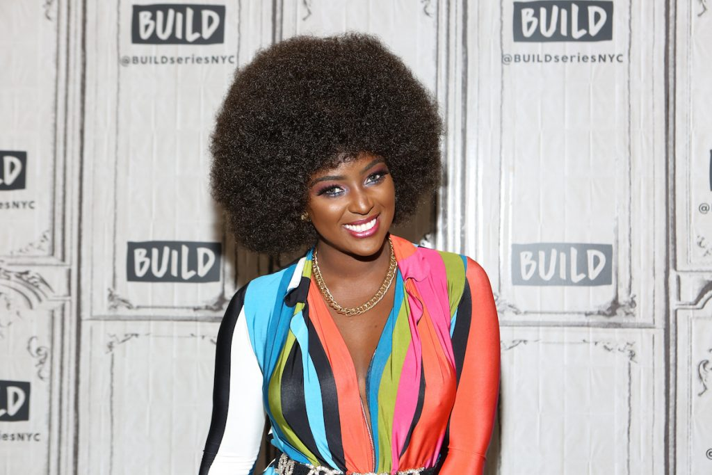 """Singer Amara La Negra attends Build Series to discuss """"Love and Hip Hop Miami"""" at Build Studio on February 7, 2018 in New York City 