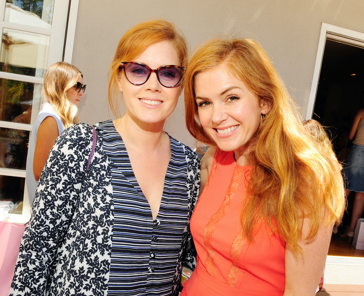 Amy Adams and Isla Fischer at the Jen Klein Day of Indulgence 2016