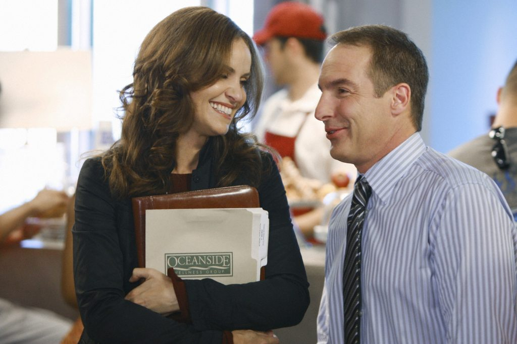 Private Practice cast members Amy Brenneman and Brian Benben