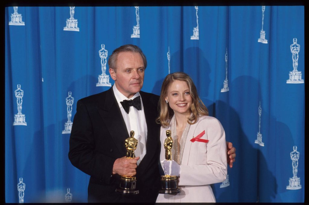 Anthony Hopkins and Jodie Foster |  John Barr/Liaison