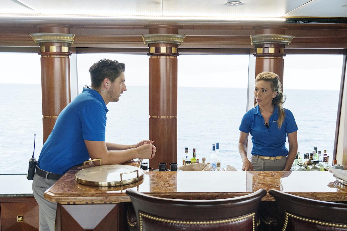 Josiah Carter, Kate Chastain on 'Below Deck'