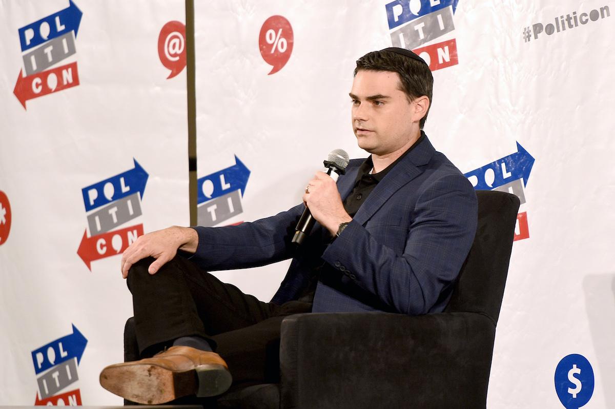 Ben Shapiro at Politicon panel in 2017
