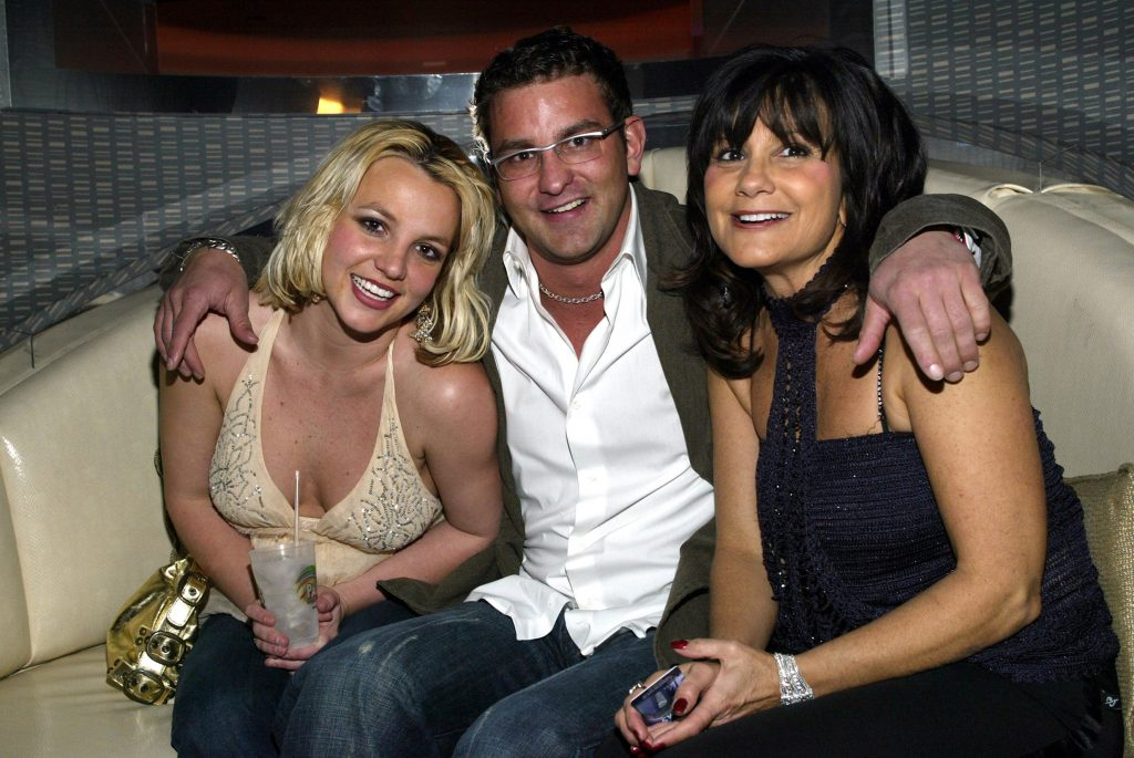 Britney Spears with brother Bryan Spears and mother Lynne Spears