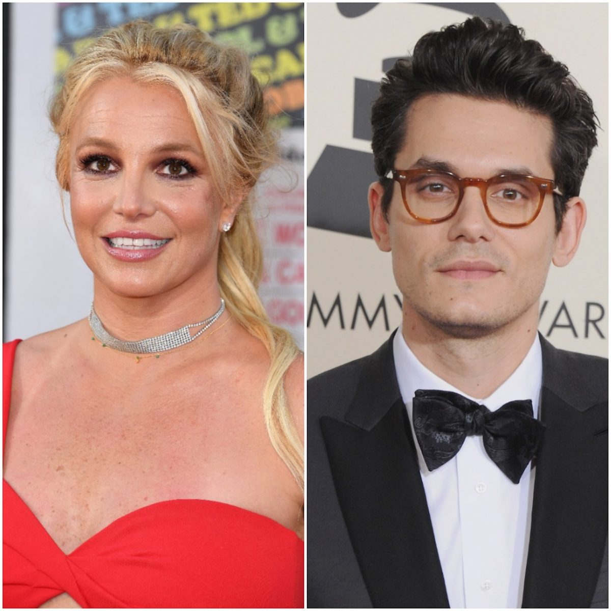 Britney Spears and John Mayer