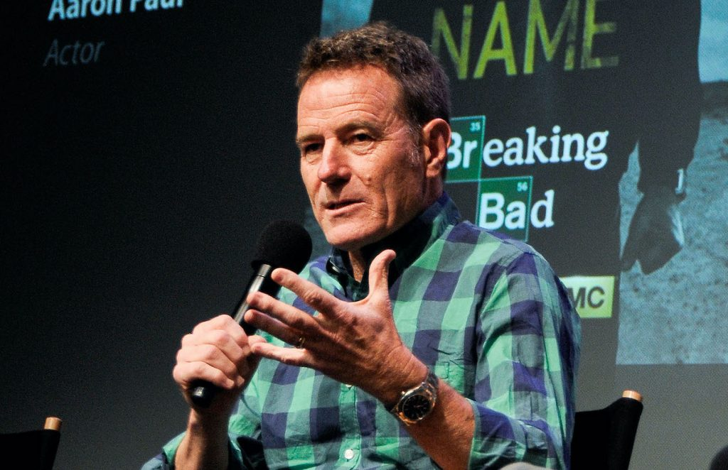 Bryan Cranston at the Apple Store Soho Presents: Meet The Filmmakers event