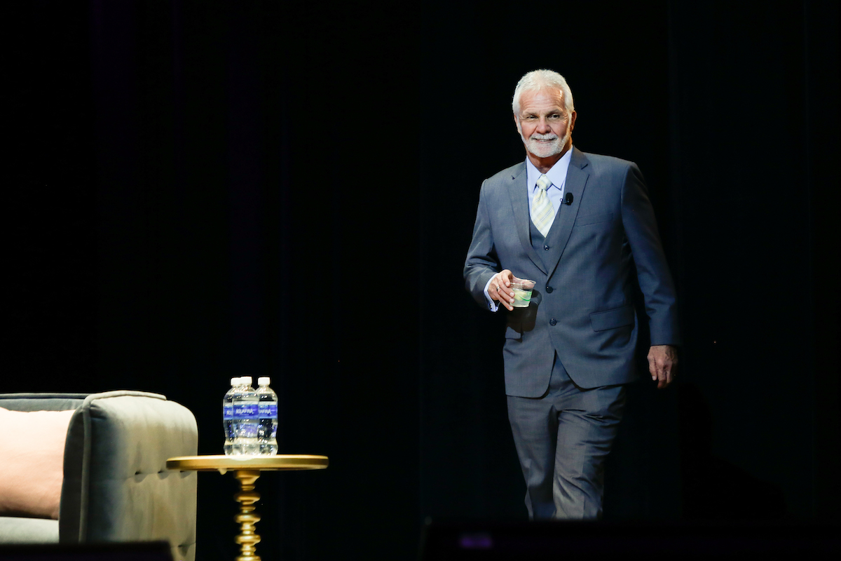 Captain Lee Rosbach from 'Below Deck' at BravoCon