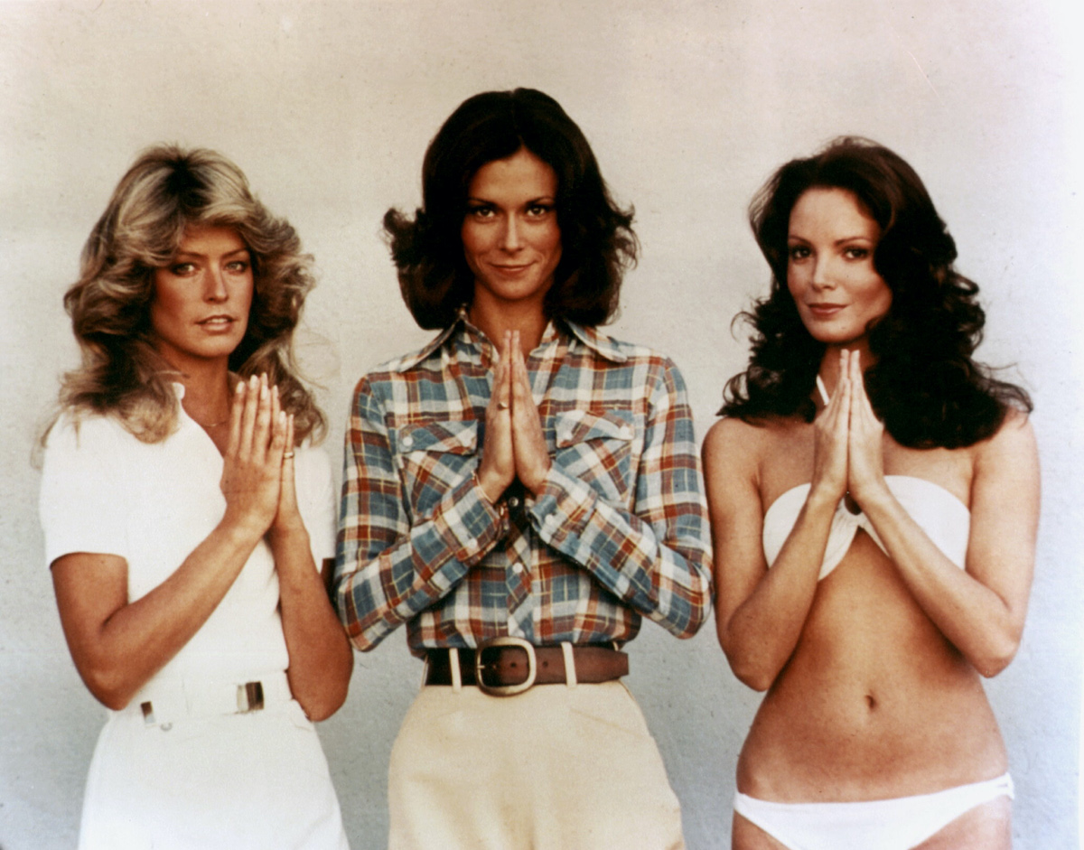 'Charlie's Angels' cast Farrah Fawcett, Kate Jackson, and Jaclyn Smith