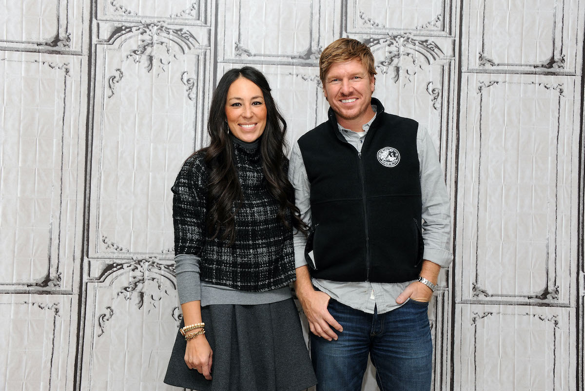 Chip and Joanna Gaines at AOL Studios in New York
