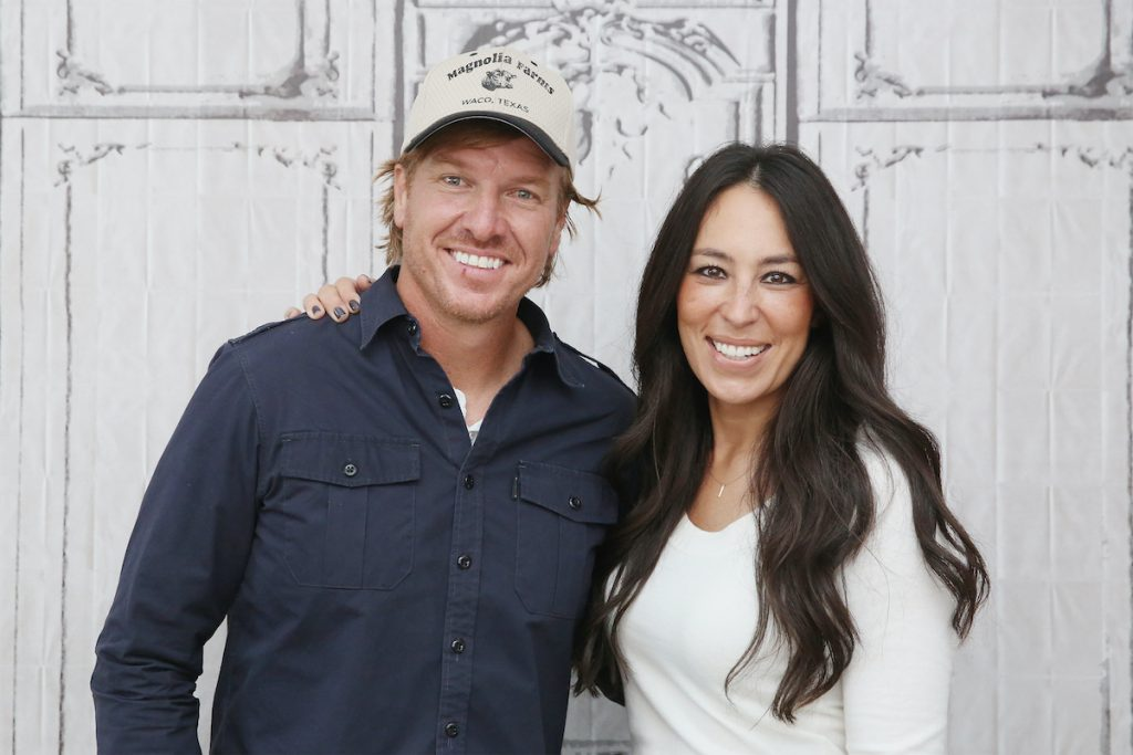 Chip and Joanna Gaines standing next to each other.