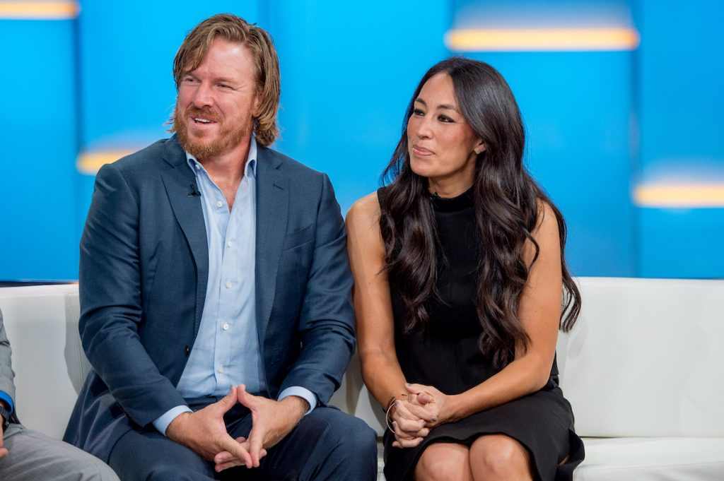 "Chip and Joanna Gaines visit ""Fox & Friends"" to discuss the book 'Capital Gaines' in 2017."