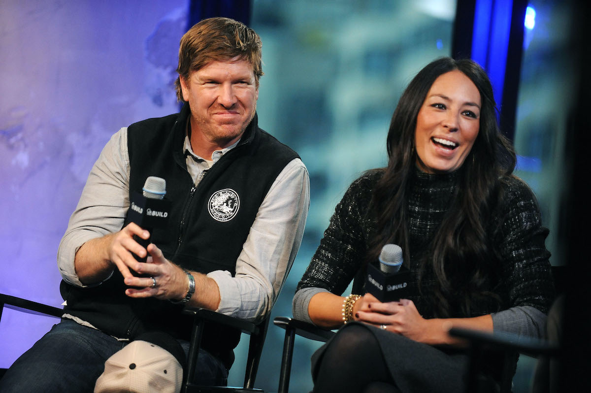 Chip and Joanna Gaines are interviewed at the AOL Build event