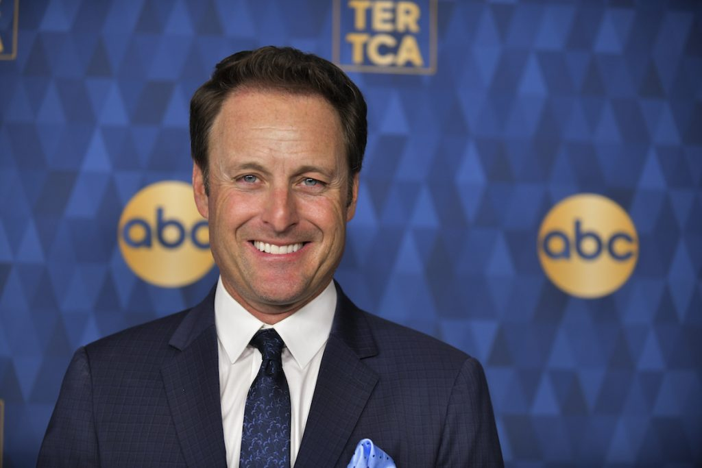 Chris Harrison attends the ABC Television's Winter Press Tour 2020 at The Langham Huntington, Pasadena on January 08, 2020 in Pasadena, California.