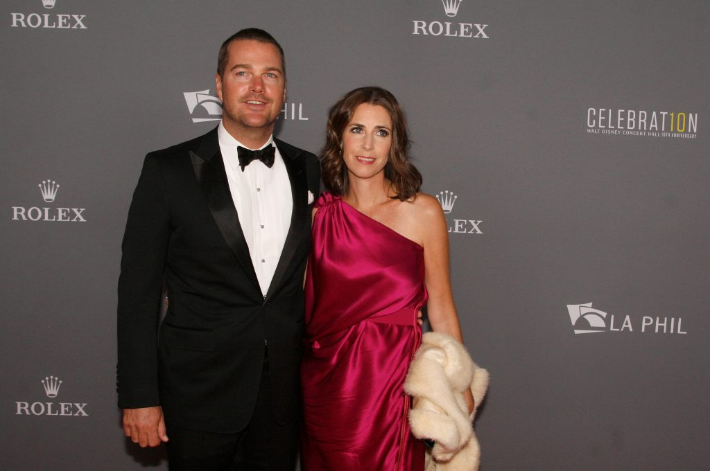 Chris O'Donnell with Caroline Fentress |  Mathew Imaging/WireImage