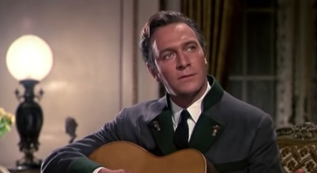 Christopher Plummer as Captain Georg von Trapp in 'The Sound of Music' | YouTube