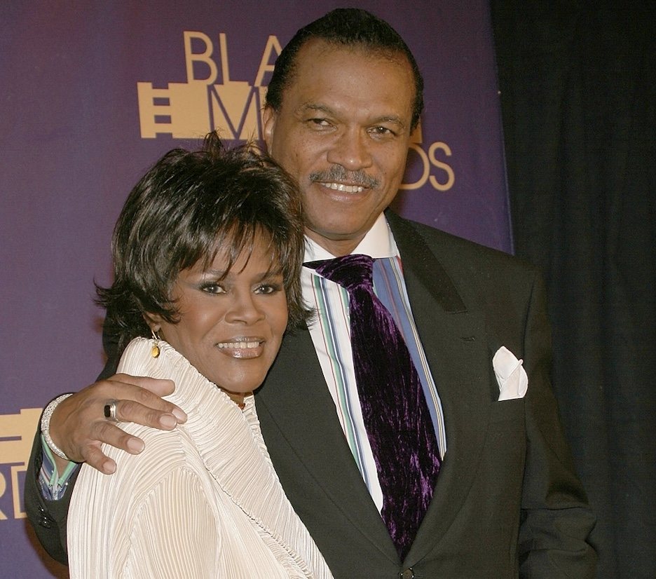 Actress Cicely Tyson recipient of the BMA Hall of Fame Distinguished Career Achievement Award and actor Billy Dee Williams pose for photos in the press room