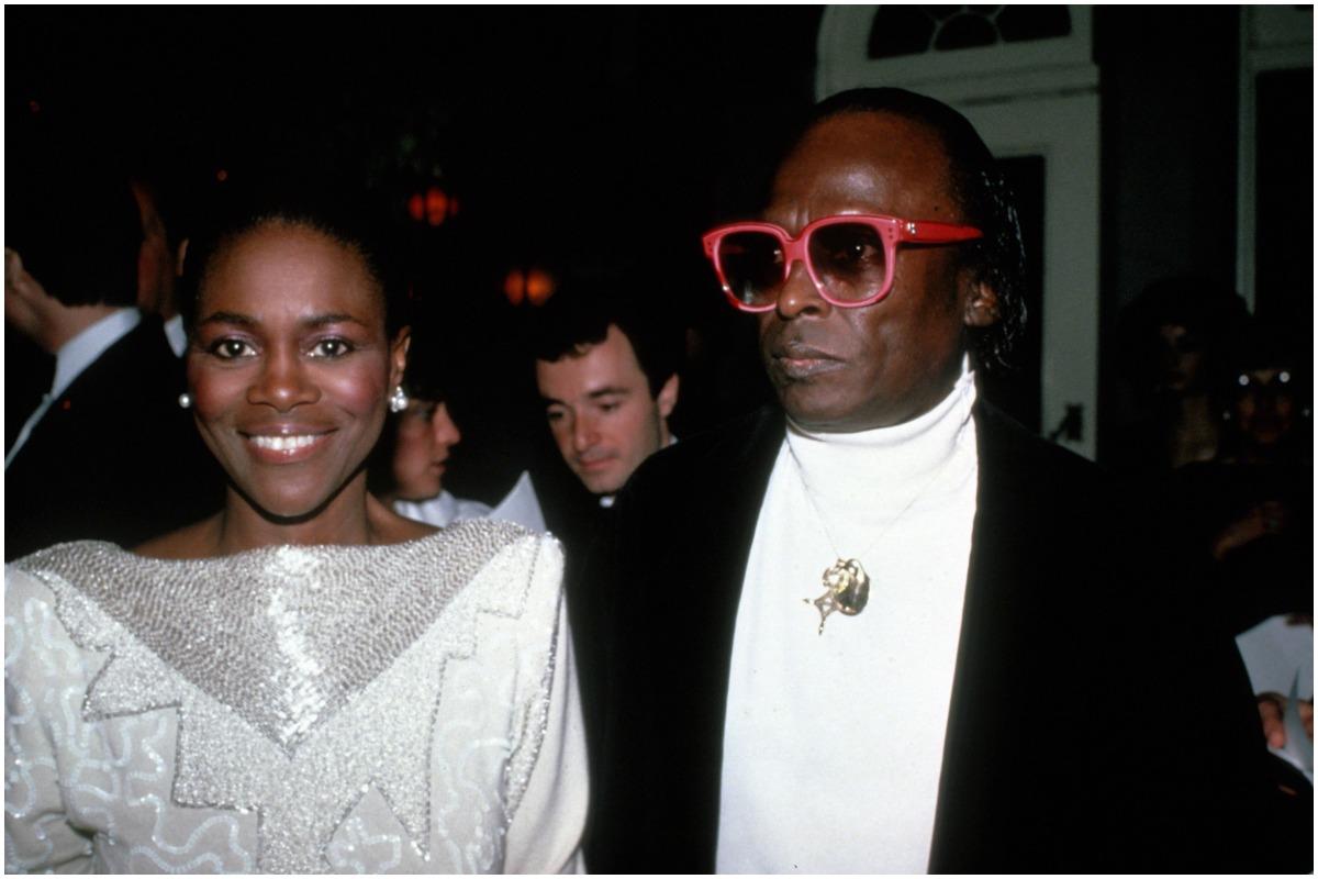 NEW YORK, NY - CIRCA 1983: Cicely Tyson and Miles Davis circa 1983 in New York City.