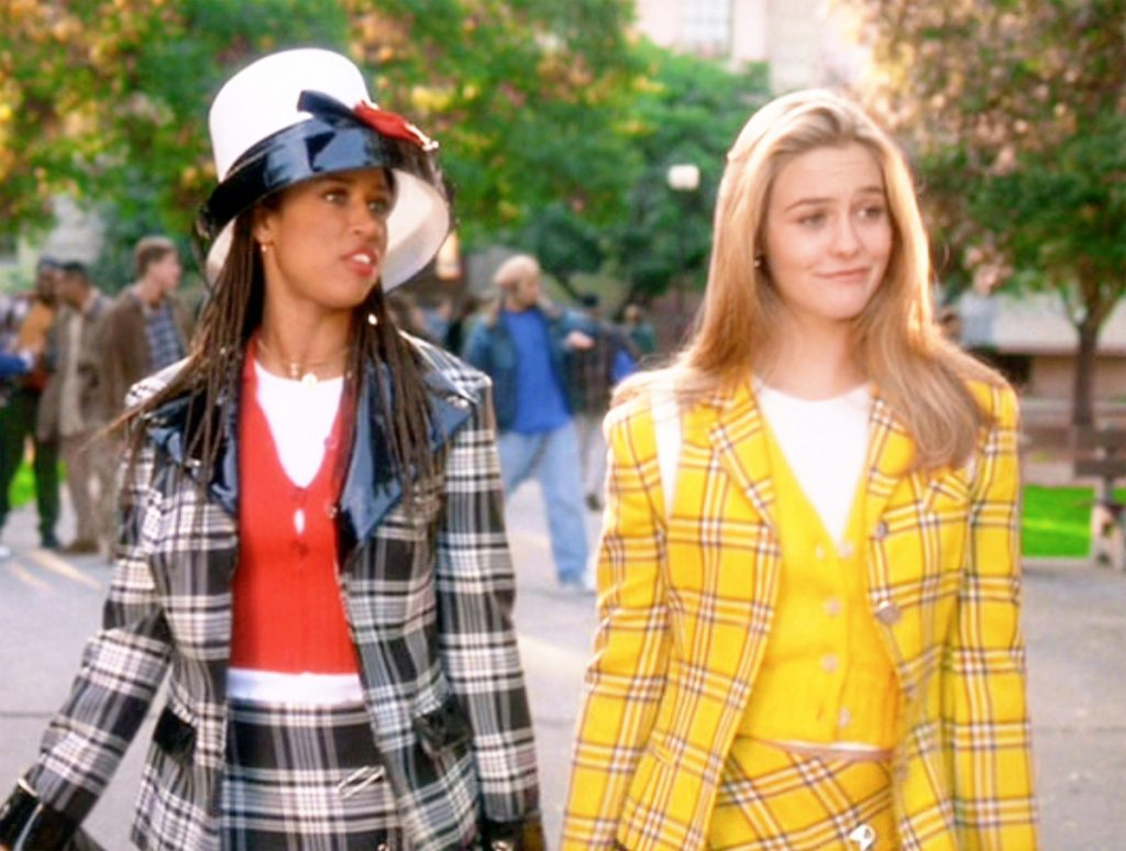Stacey Dash as Dionne Davenport and Alicia Silverstone as Cher Horowitz
