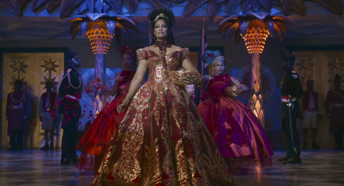 Coming 2 America: Garcelle Beauvais as the rose petal priestess