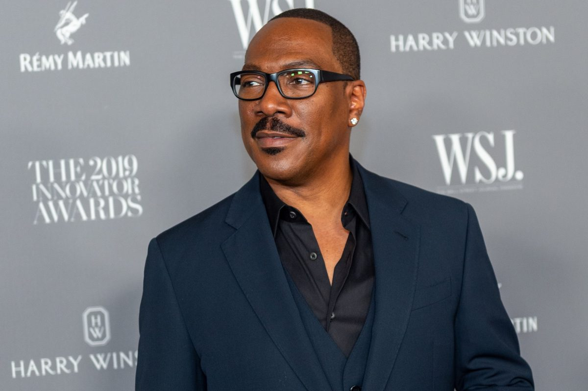 Coming 2 America star Eddie Murphy at the WSJ Mag 2019 Innovator Awards